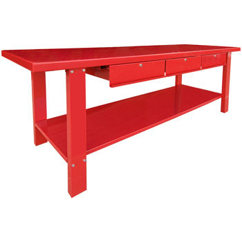 Fabulous Workbenches Pse Tcwbs3 3 Drawer Steel Workbench Onthecornerstone Fun Painted Chair Ideas Images Onthecornerstoneorg